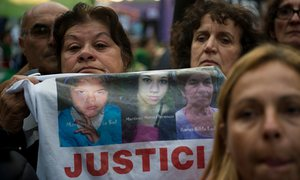 Hundreds of thousands of women set to protest against violence in Argentina