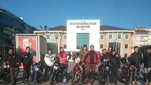 Motosiklet tutkunları Bursa'da buluştu