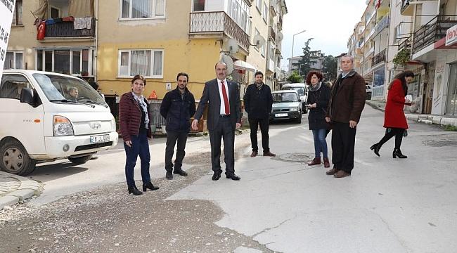 Mudanya'da mahalle ziyaretleri sürüyor
