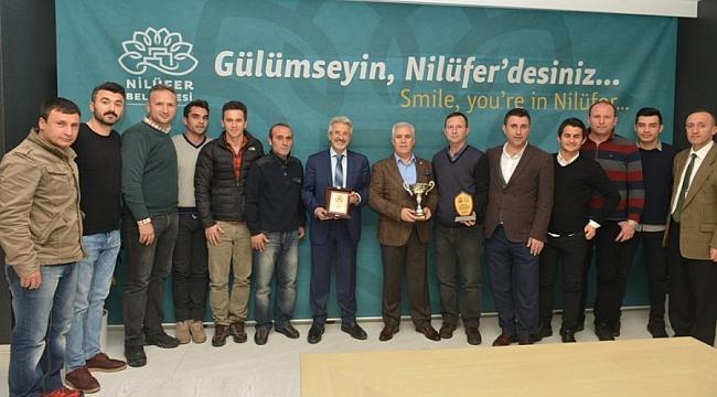 Nilüfer ekibine ikincilik kupası