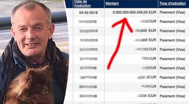 'Ufak' bir hata 2 trilyon Euro sahibi yaptı