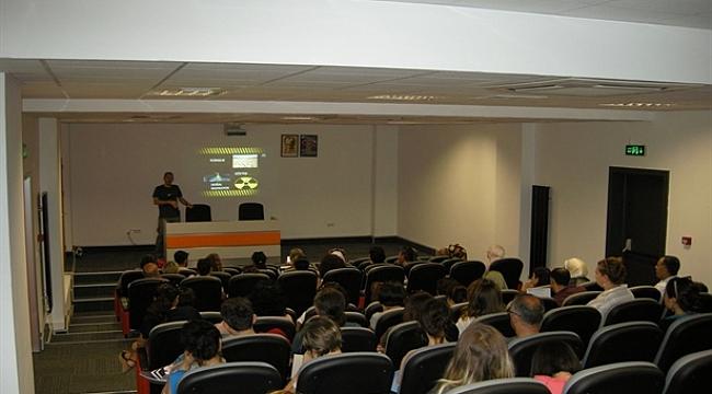Afet Merkezi'nde öğretmenlere eğitim