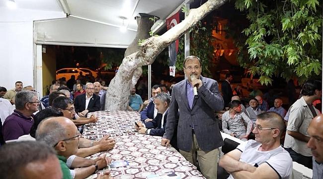 Çavuşoğlu Bursalılarla buluştu