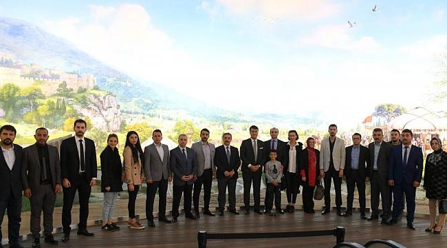 MHP Bursa'dan Panorama 1326'ya ziyaret