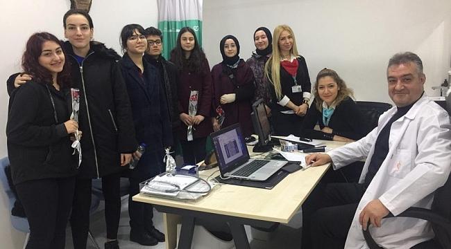 Anadolu Hastanesi öğrencileri konuk etti