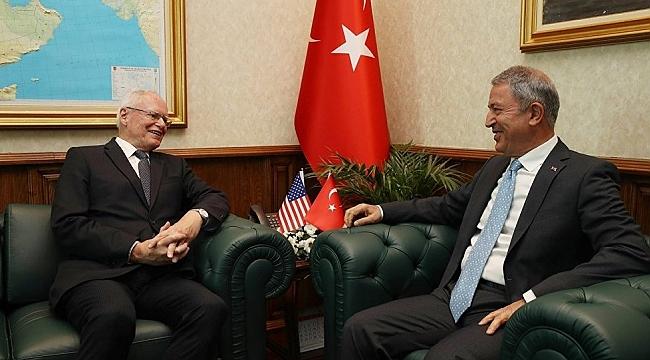 Bakanı Akar, Jeffrey'i kabul etti