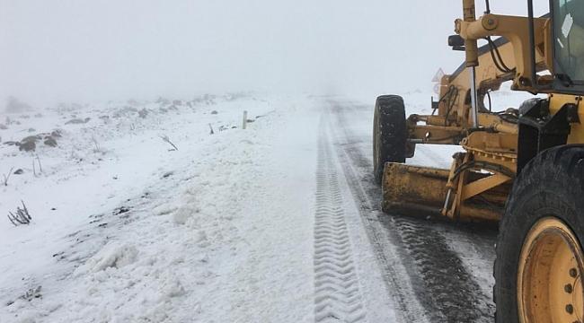 Karla mücadele başladı