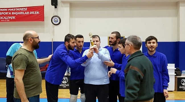 BUGES Bölgesel Goalball Şampiyonu oldu