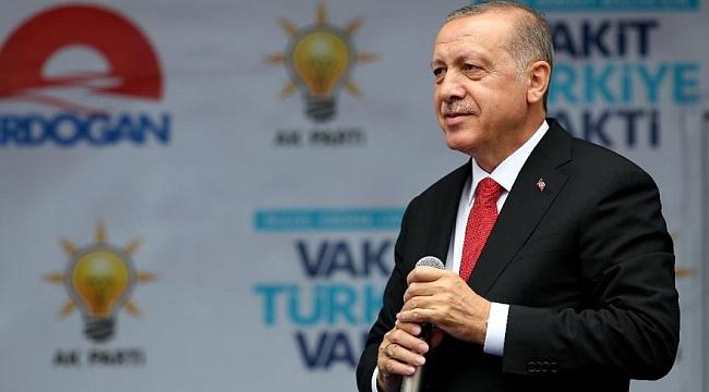 Erdoğan, Trabzon'da konuştu