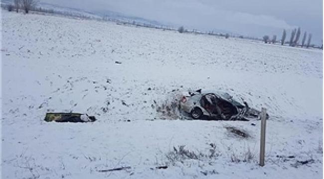 Eskişehir'de korkunç kaza: 3 ölü