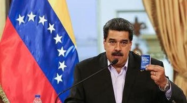 Maduro'dan yaptırım kararı sonrası ilk açıklama