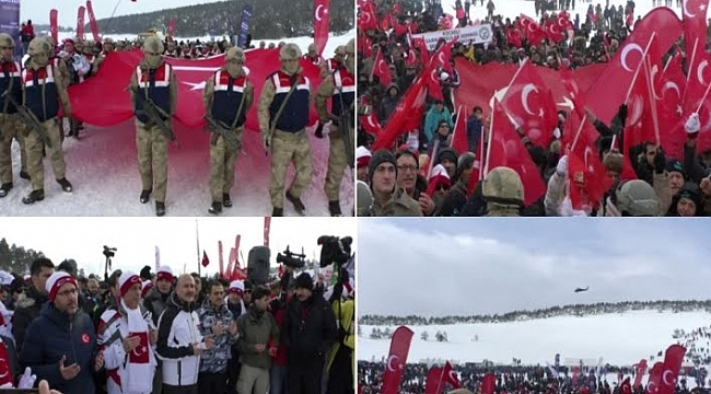 Türkiye Sarıkamış şehitleri için yürüdü