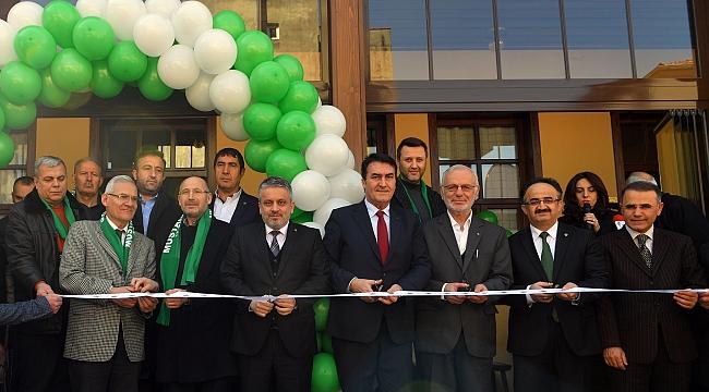 Bursa'nın İlk Millet Kıraathanesi Osmangazi'de Açıldı
