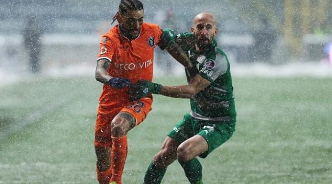 Bursaspor Başakşehir karşısında kayıp