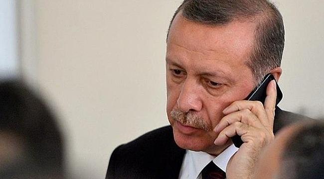 Erdoğan'dan, Denktaş ailesine taziye telefonu
