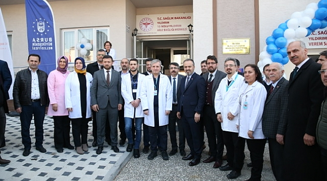 Yıldırım'a modern sağlık merkezi