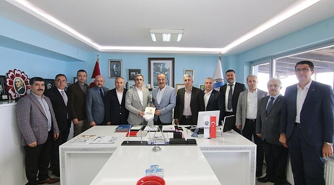 İmsiad'tan Türkyılmaz'a Ziyaret