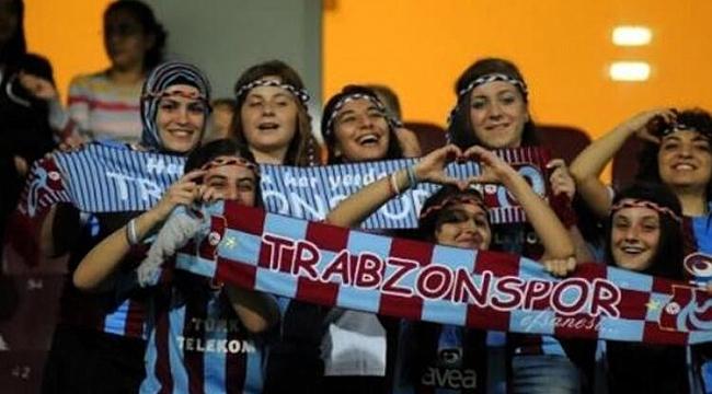 Kadınlarda tribün lideri Trabzon