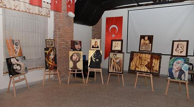 Kadınlardan 25 Kasım'a özel sergi