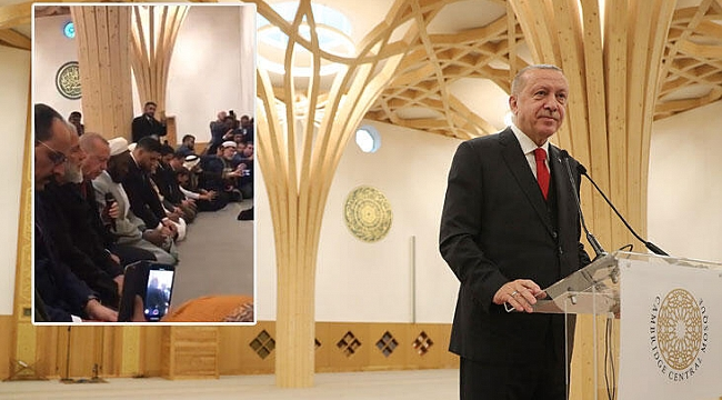 Erdoğan tarihi açılışta Kur'an-ı Kerim okudu