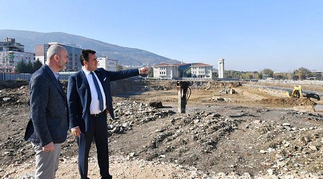 Işık'tan Bursa'ya nefes aldıracak projeye tam not