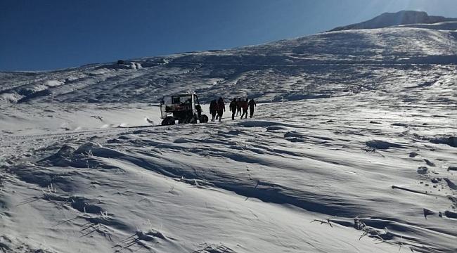 Uludağ'da 2 dağcı dün geceden beri kayıp
