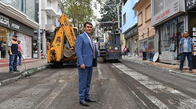 Osmangazi'de yollar yenilendi