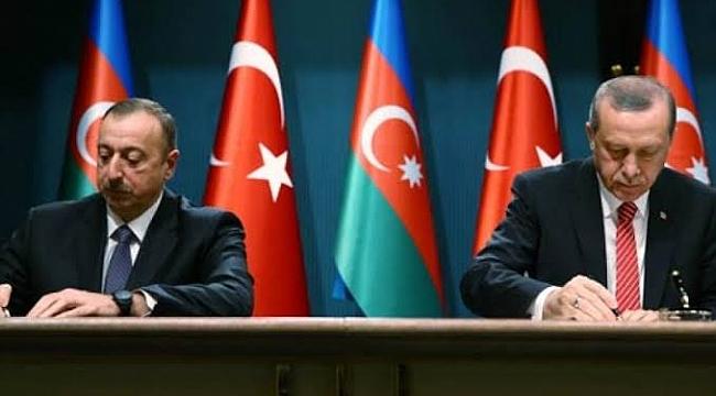 Azerbaycan ile 14 anlaşma imzalandı