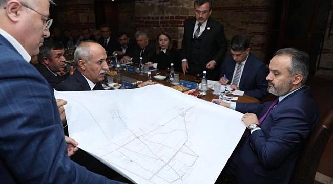Başkan Aydın'dan Başkan Aktaş'a ziyaret