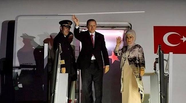 Erdoğan İstanbul'a döndü