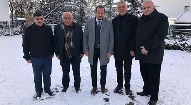 Milletvekili Özen'den DİKOSAB'a tam destek