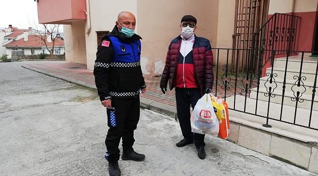 Gemlik Belediyesi'nden yaşlılara yardım eli