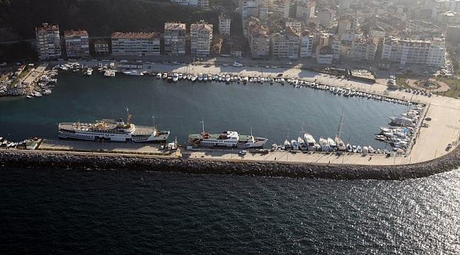 Güzelyalı Yat Limanı Büyükşehir'e devredildi