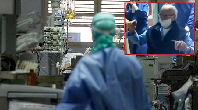 95 yaşındaki hasta koronavirüsü yendi!
