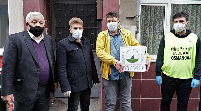 Osmangazi'den küçük esnafa büyük destek
