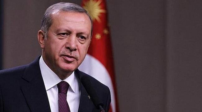 Erdoğan'dan şehit ailesine taziye mesajı