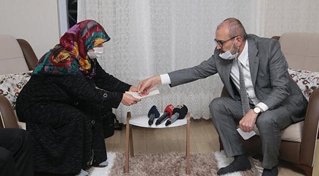 Erdoğan o yüzüğü hediye etti