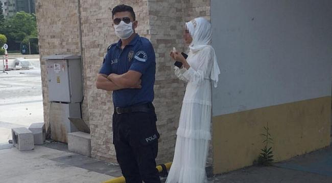 Zorla evlendirilmek istenen kızı polis kurtardı!