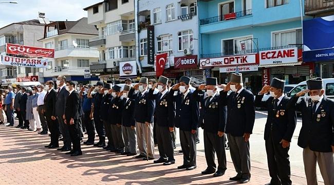 Atatürk'ün İznik'e gelişinin 85. yılı kutlandı