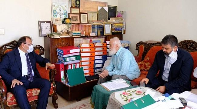 Çavuşoğlu'ndan Kandemir'e teşekkür ziyareti