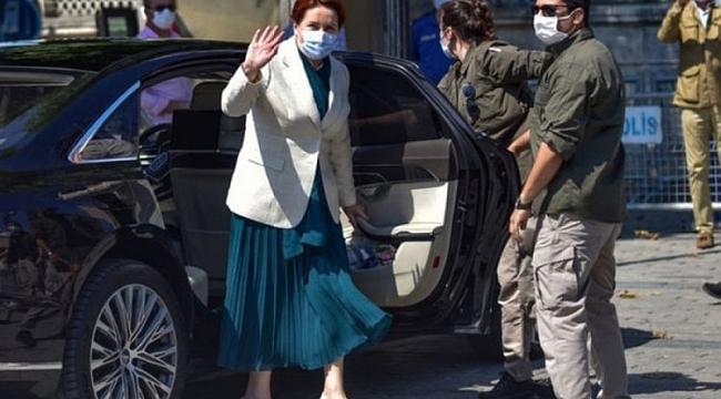 Akşener, Ayasofya'yı ziyaret etti