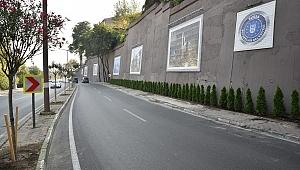 Bursa caddelerine estetik dokunuş
