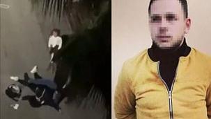 Samsun'da kadına şiddet uygulayan şahıs gözaltında