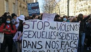 Taciz iddiaları Fransa'yı sokaklara döktü