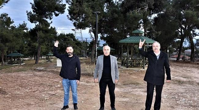 Yenişehir'de Kozdere çamlığının düzenlemesi sona erdi