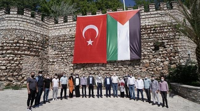 Kestel Belediyesi'nden Filistinli Müslümanlara destek
