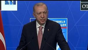 Erdoğan NATO Zirvesi sonrası konuştu