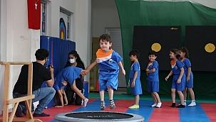 İnegöl'de yaz spor okulları başladı