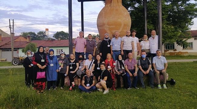 Uludağ Kültür Sanat Eğitim Merkezi'den çömleğin köyüne ziyaret