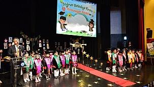 Yıldırımlı miniklerin mezuniyet heyecanı